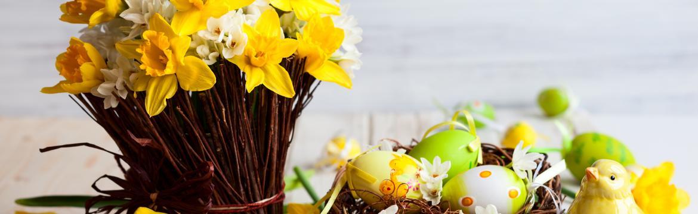 Velikonoční dekorace hravě, hezky a jednoduše: Připravte byt na příchod jara