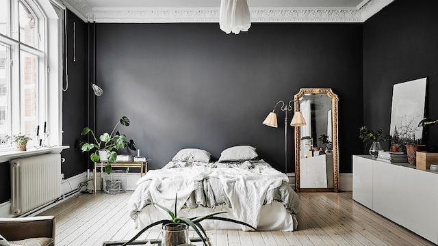 Jak v interiéru zacházet s černou barvou? S rozmyslem!