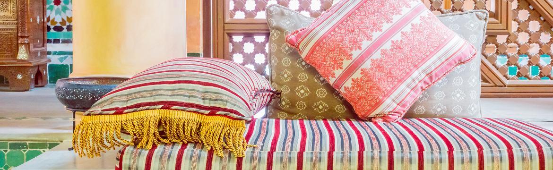 Marocký styl připomíná Pohádky tisíce a jedné noci