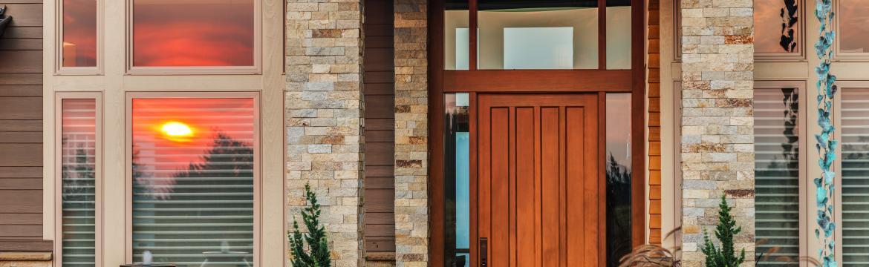 Živá ozdoba vchodových dveří. Ozdobte si vstup do vašeho domu pomocí rostlin.