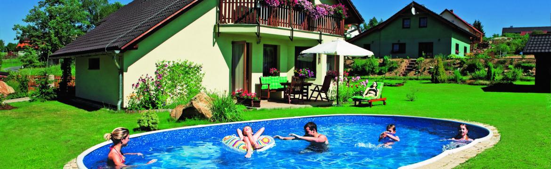 Užijte si letní pohody u vlastního bazénu