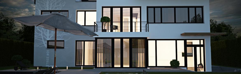 Nedaleko Prahy vyroste nový luxusní projekt chytrého bydlení Vily Tuchoměřice