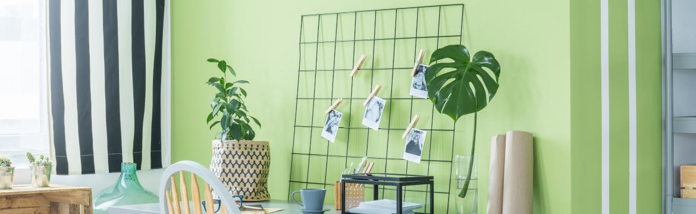 Barevné nápady, které dodají domácí pracovně šmrnc