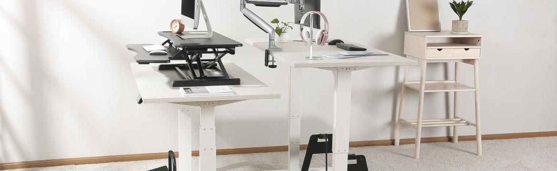 Polohovatelné stoly snižují únavu zvyšují pracovní výkon