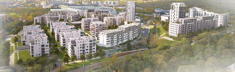 YIT rozšíří vznikající rezidenční čtvrť v Praze 9. Nový polyfunkční projekt Lappi Hloubětín přinese 260 bytů i komerční prostory