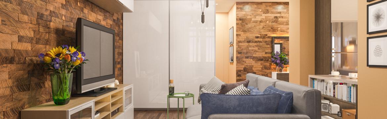 Zařídit malý pokoj může být velkým oříškem