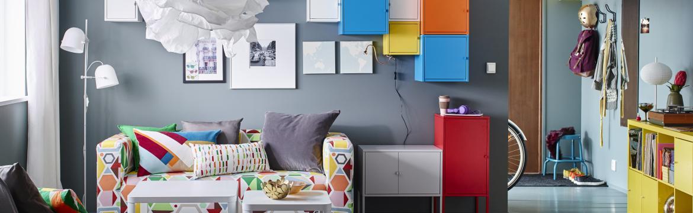 Vyzkoušejte pár triků do vašeho malého bytu