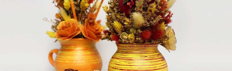 Sušené květiny udělají stejnou parádu jako ty živé
