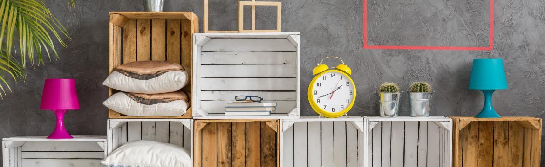 4 tipy na kreativní úložné prostory, které ušetří místo a rozzáří interiér
