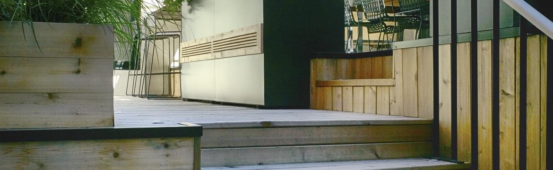 Dům z devatenáctého století ukrývá moderní oázu klidu plnou přírodních prvků