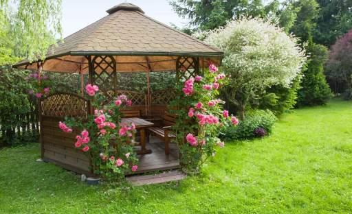 Dokonalá zahrada je taková, ve které se máte kam schovat