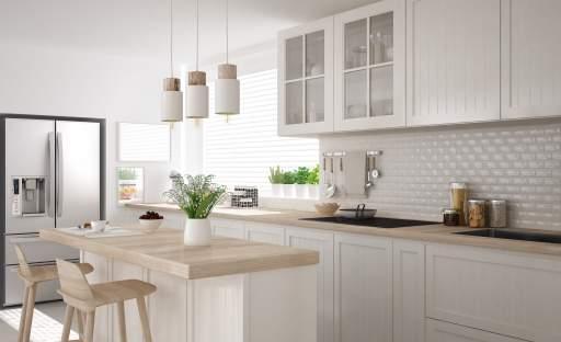 K pohodě v kuchyni významně přispívají barvy