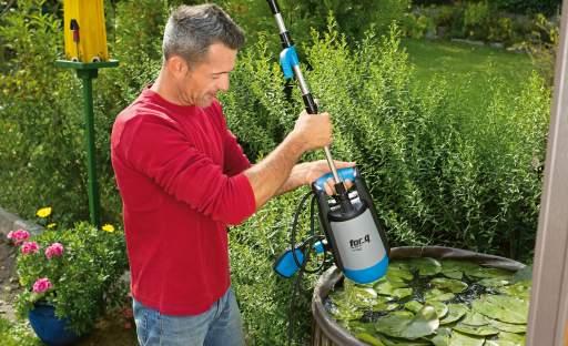 Čerpání vody na zahradě má svá pravidla