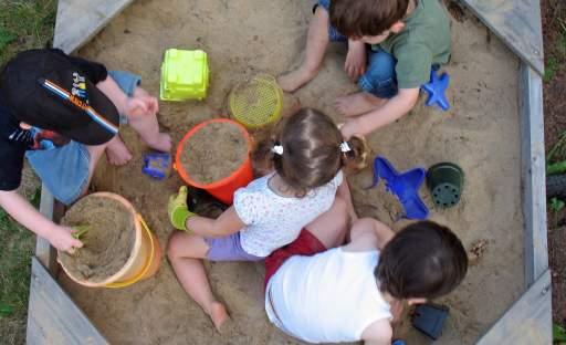 I děti si zaslouží vlastní prostor na zahradě