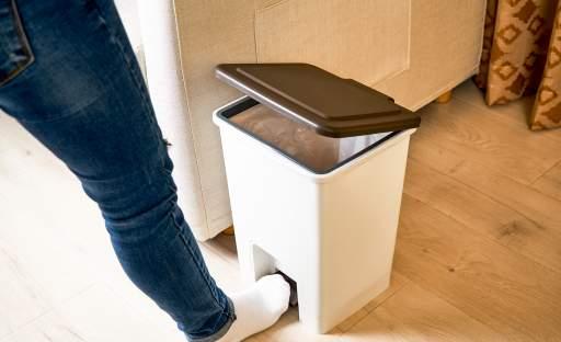 Co dokáže zkazit dojem z interiéru? Odpadkový koš …