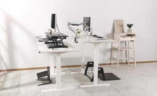 Polohovatelné stoly zvyšují pracovní výkon
