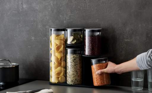 Co sluší každé kuchyni? Stylové a funkční uchovávání potravin