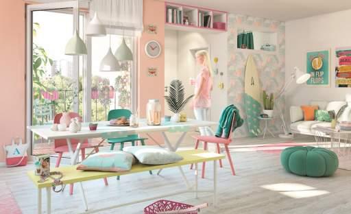 Zabalte svůj interiér do pastelových barev