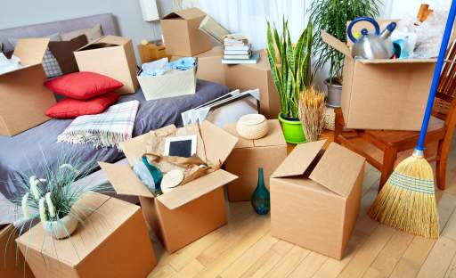 Stěhování je příležitostí, jak se zbavit nepoužívaných věcí