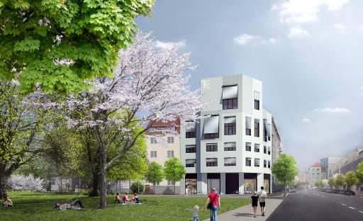 Skupina T.E dokončila hrubou stavbu brněnského projektu Milhouse