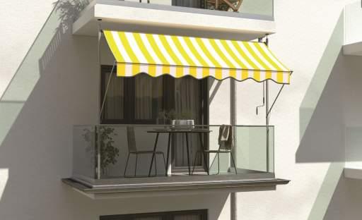 Zajímavé možnosti zastínění zlepší pohodu na terase nebo balkoně