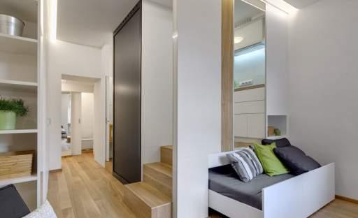 Interier malého bytu