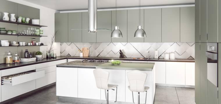 Správně nastavené pracovní zóny v kuchyni usnadňují proces vaření