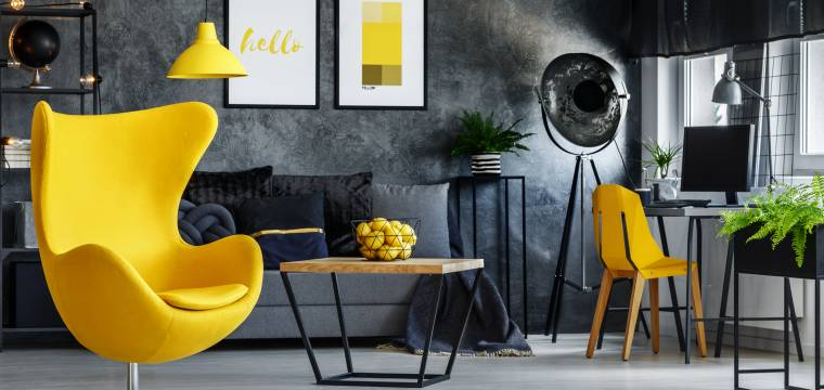 Krásné šedé nápady do obývacího pokoje: Proč dát šedé ve vašem obýváku prostor