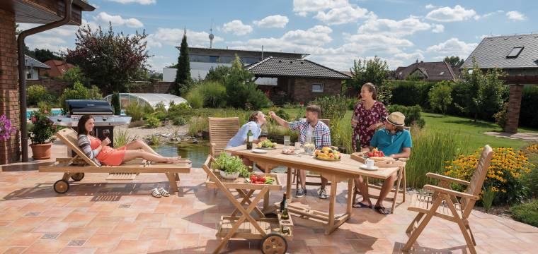 Jak připravit zahradní dřevěný nábytek na novou sezónu