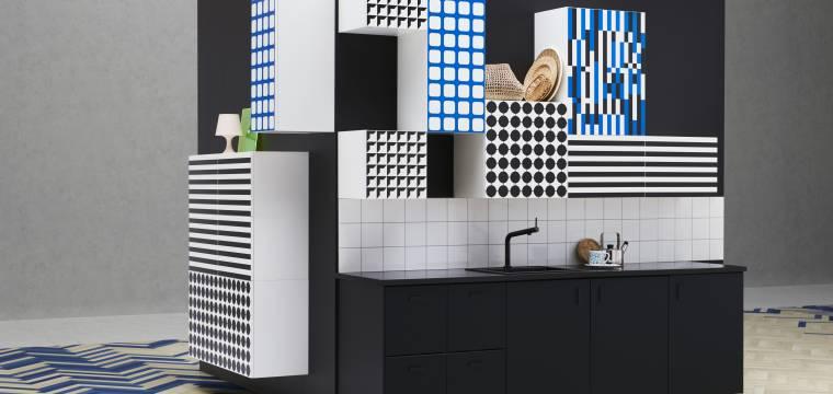 Kde se geometrie může stát vášní? Přece v interiéru …