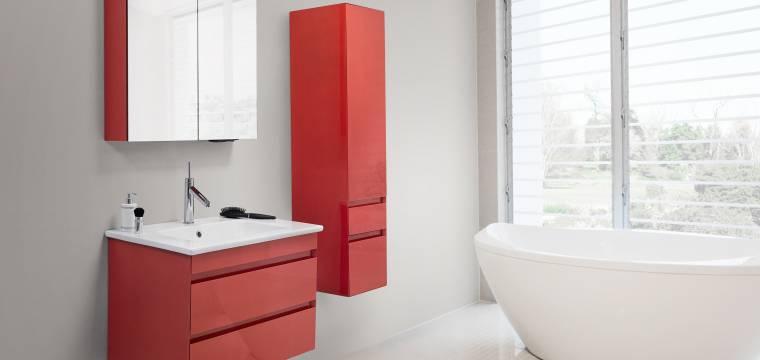 Červená barva dodá vašemu interiéru šmrnc