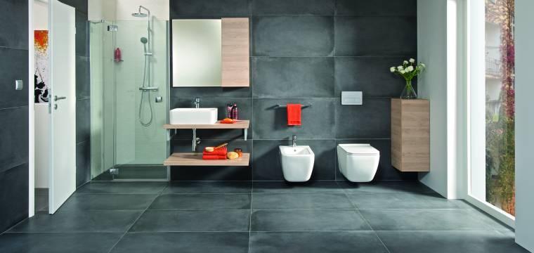 Koupelnové vybavení v duchu minimalismu a čistých linií je sázkou na jistotu nadčasového prostoru